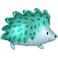 Гелієві 3207-2758 Кулька А ФІГУРА/S50 ПАК Їжачок зелений