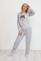 Пижама махровая теплая wellsoft, фото 1