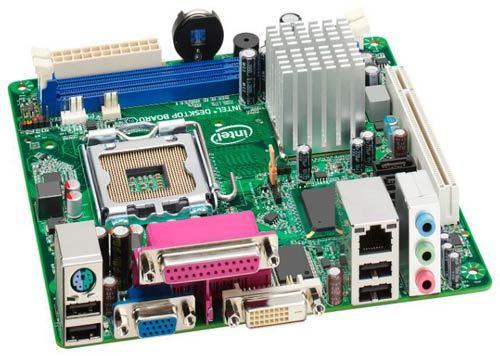 Материнская плата Intel DG41AN Intel G41, s775 б/у