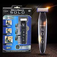Триммер. машинка для стрижки бороды 3 в 1 MicroTouch Solo