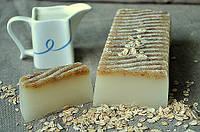 Мыло нарезное Молоко и овес 100 грамм