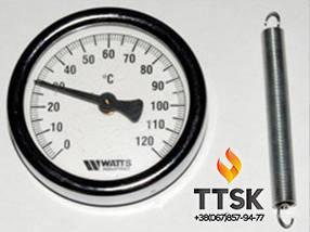 Термометр биметаллический накладной WATTS F+R810