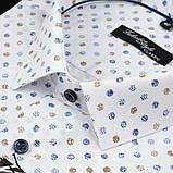 Сорочка чоловіча, прямого крою з довгим рукавом Fabrik Style T2496V4 100% бавовна 43(Р), фото 2