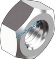 DIN 934, гайка шестигранная с мелким шагом резьбы из нержавеющй стали