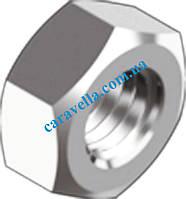 DIN 934, гайка шестигранная из нержавеющй стали