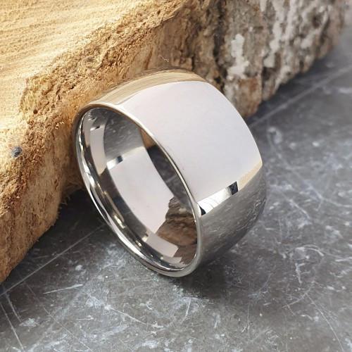 Свадебные кольца из медицинской стали округлое 10 мм под гравировку 176308