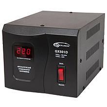 Стабилизатор Gemix GX-501D 500VA/350W 160-250V->220V+/-7% релейный