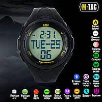 Тактичні міські годинники з крокоміром M-tac Black (50001002)