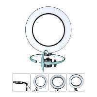 Кольцевая LED светодиодная селфи лампа Ring Light 16 см