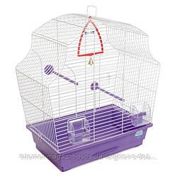 Клетка Мери для мелких декоративных птиц ТМ Природа 44х27х54см