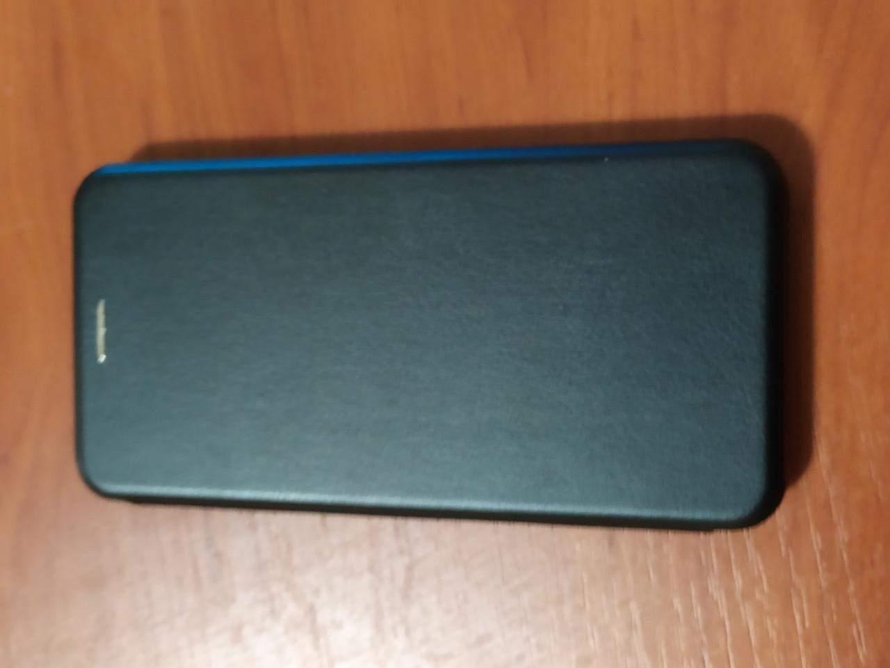Чехол- книга Premium для Xiaomi Redmi Note 8T   (черный)
