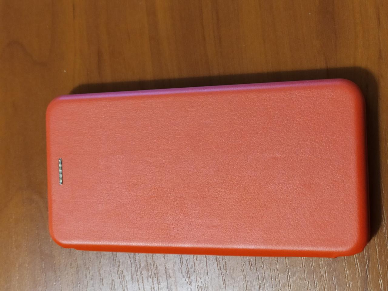 Чохол - книга Premium для Xiaomi Redmi Note 8T (червоний)