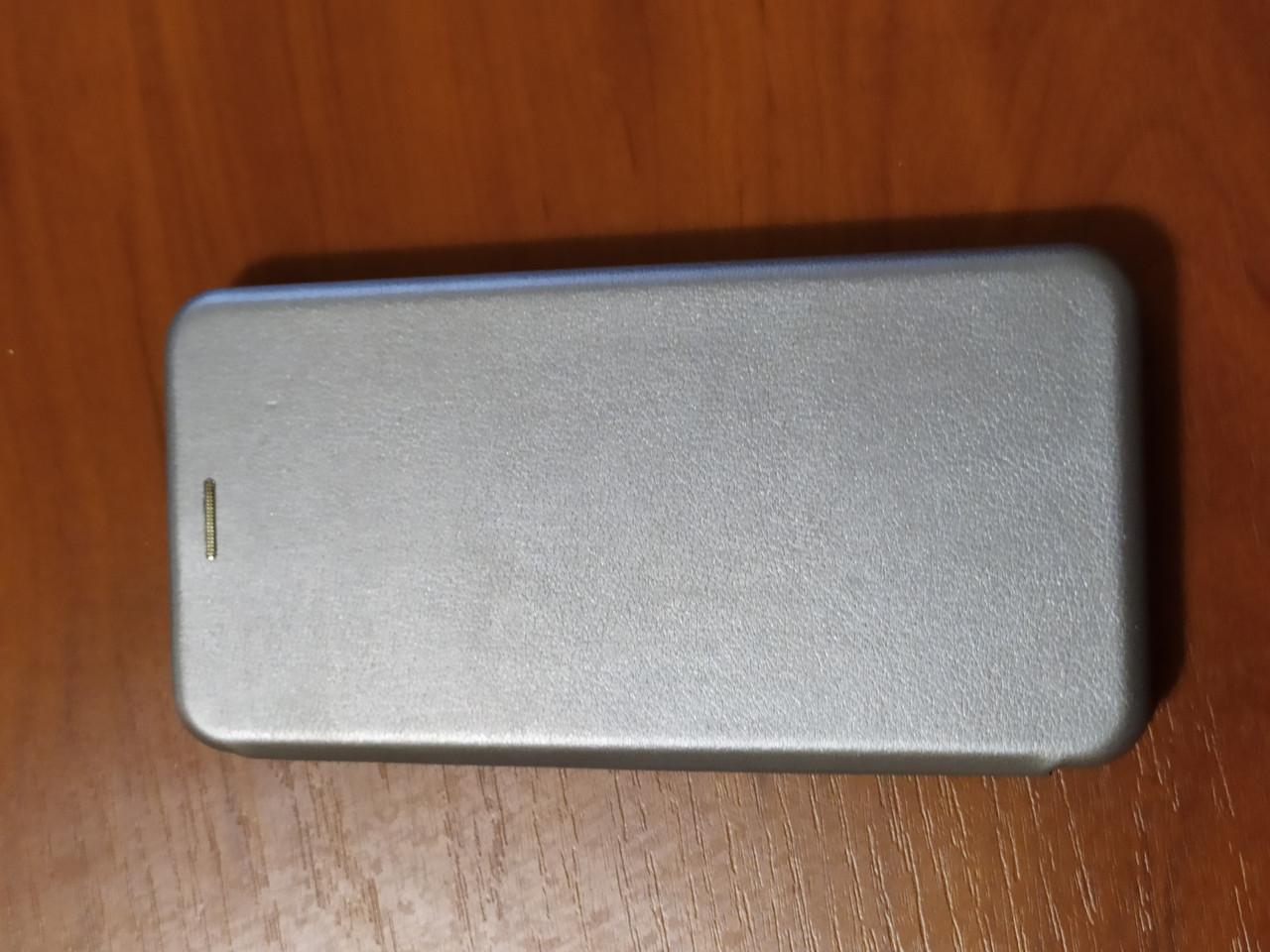 Чохол - книга Premium для Xiaomi Redmi Note 8T (срібло)