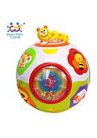 """Игрушка Huile Toys """"Счастливый мячик"""" , детский музыкальный мячик"""