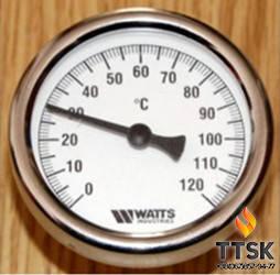 Термометр биметаллический WATTS T63/50