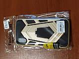 Накладка Armor Case iPhone X / XS 5.8 з підставкою (золото), фото 3