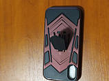 Накладка  Armor Case  iPhone X / XS 5.8  с подставкой  (бордовый), фото 2