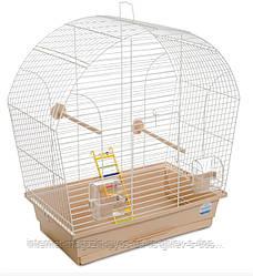Клетка Лина ХРОМ для мелких декоративных птиц ТМ Природа 44х27х54см