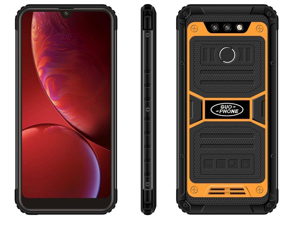 Защищенный смартфон Land Rover 2020 (Guophone 2020) 3/32Gb  Orange MediaTek MT6580 4500 мАч
