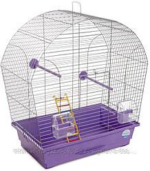 Клетка Лина для мелких декоративных птиц ТМ Природа 44х27х54см