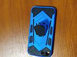 Накладка  Armor Case  iPhone 7 / 8 / SE 2020  с подставкой  (синий), фото 2