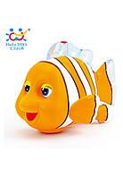 "Игрушка Huile Toys ""Рыбка клоун"", детская игрушка рыбка"
