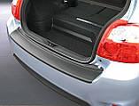 Пластиковая защитная накладка на задний бампер для Toyota Auris 3/5dr 2010-2012, фото 8