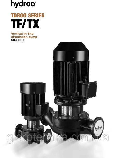 Вертикальный циркуляционный насос TF,TX 100-50-9