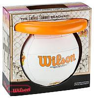 Мяч волейбольный c диском Wilson Endless sammer vball and air disk (WTX0522kit)