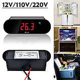 Цифровий термометр PT-11, 12В, фото 3