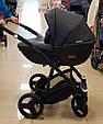 Детская универсальная коляска 2 в 1 Riko Basic Aicon Ecco (черный цвет), фото 2