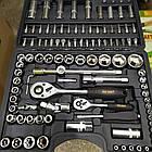 Набір інструментів ProCraft WS-108ед. Набір головок та ключів хром-ванадій, фото 6
