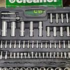 Набір інструментів ProCraft WS-108ед. Набір головок та ключів хром-ванадій, фото 5