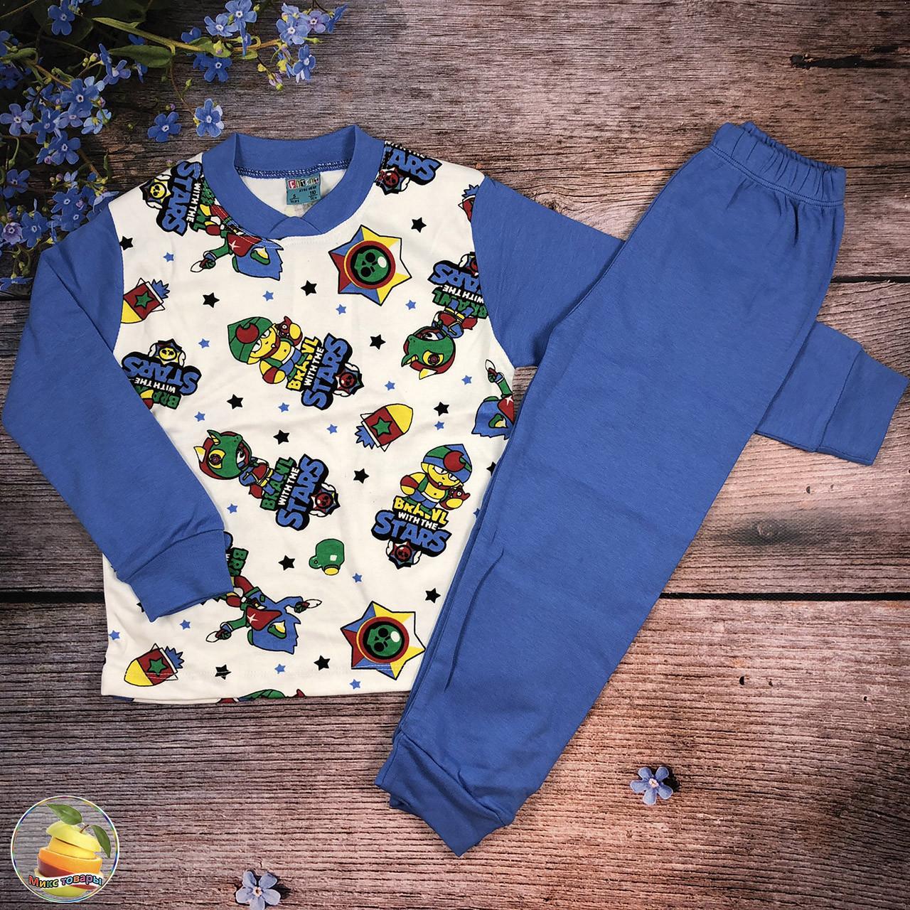"""Піжама """"Brawl Stars"""" для хлопчика Розміри: 110,116,122,128 см (20792-1)"""