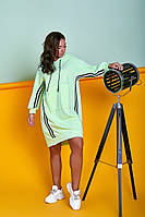 Женское трикотажное свободное платье в спортивном стиле .Размеры:44/46,48/50,52/54. + Цвета, фото 1