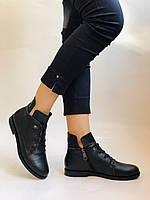 Alpino. Жіночі осінні черевики. На низькому каблуці. Натуральна шкіра.Alpino. Р. 37 -38 .Vellena, фото 3