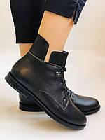 Alpino. Жіночі осінні черевики. На низькому каблуці. Натуральна шкіра.Alpino. Р. 37 -38 .Vellena, фото 6