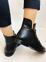 Alpino. Жіночі осінні черевики. На низькому каблуці. Натуральна шкіра.Alpino. Р. 37 -38 .Vellena, фото 10