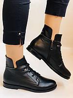Alpino. Жіночі осінні черевики. На низькому каблуці. Натуральна шкіра.Alpino. Р. 37 -38 .Vellena, фото 2
