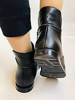 Alpino. Жіночі осінні черевики. На низькому каблуці. Натуральна шкіра.Alpino. Р. 37 -38 .Vellena, фото 8