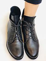 Alpino. Жіночі осінні черевики. На низькому каблуці. Натуральна шкіра.Alpino. Р. 37 -38 .Vellena, фото 7