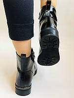 Жіночі осінні черевики. На середньому каблуці. Натуральна шкіра.Stalo Totti Р. 35, 36, 37. 38.Vellena, фото 6