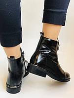 Жіночі осінні черевики. На середньому каблуці. Натуральна шкіра.Stalo Totti Р. 35, 36, 37. 38.Vellena, фото 9