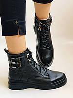 Жіночі черевики. На середній танкетці. Натуральна шкіра. Висока якість. 24pfm Р. 37, 39,40, фото 2