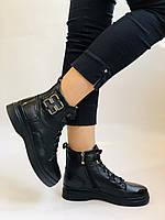 Жіночі черевики. На середній танкетці. Натуральна шкіра. Висока якість. 24pfm Р. 37, 39,40, фото 3