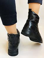 Жіночі черевики. На середній танкетці. Натуральна шкіра. Висока якість. 24pfm Р. 37, 39,40, фото 8