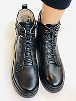 Жіночі черевики. На середній танкетці. Натуральна шкіра. Висока якість. 24pfm Р. 37, 39,40, фото 7