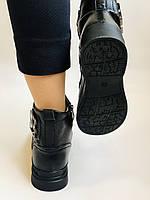 Жіночі черевики. На середній танкетці. Натуральна шкіра. Висока якість. 24pfm Р. 37, 39,40, фото 4