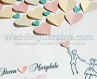 Картина пожеланий молодоженам на свадьбу