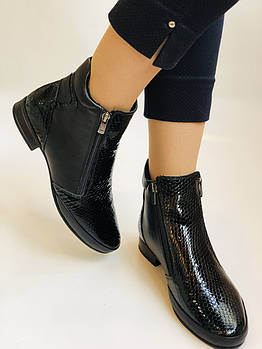 Женские ботинки. Осенне-весенние. Натуральная кожа. Высокое качество. Турция PSC. Р.  40